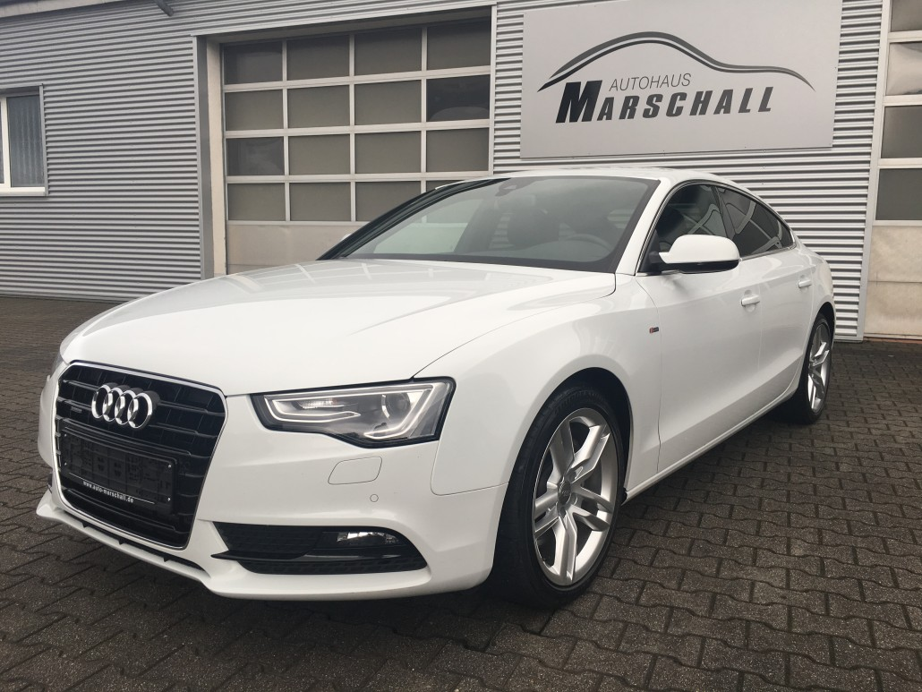 audi a5 sportback 3 0 tdi clean diesel quattro. Black Bedroom Furniture Sets. Home Design Ideas
