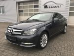 Mercedes-Benz C220 CDI DPF Coupe Blue Efficiency  Panorama ILS